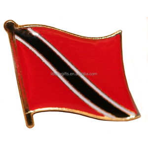 Trinidad and Tobago flag lapel pin badge