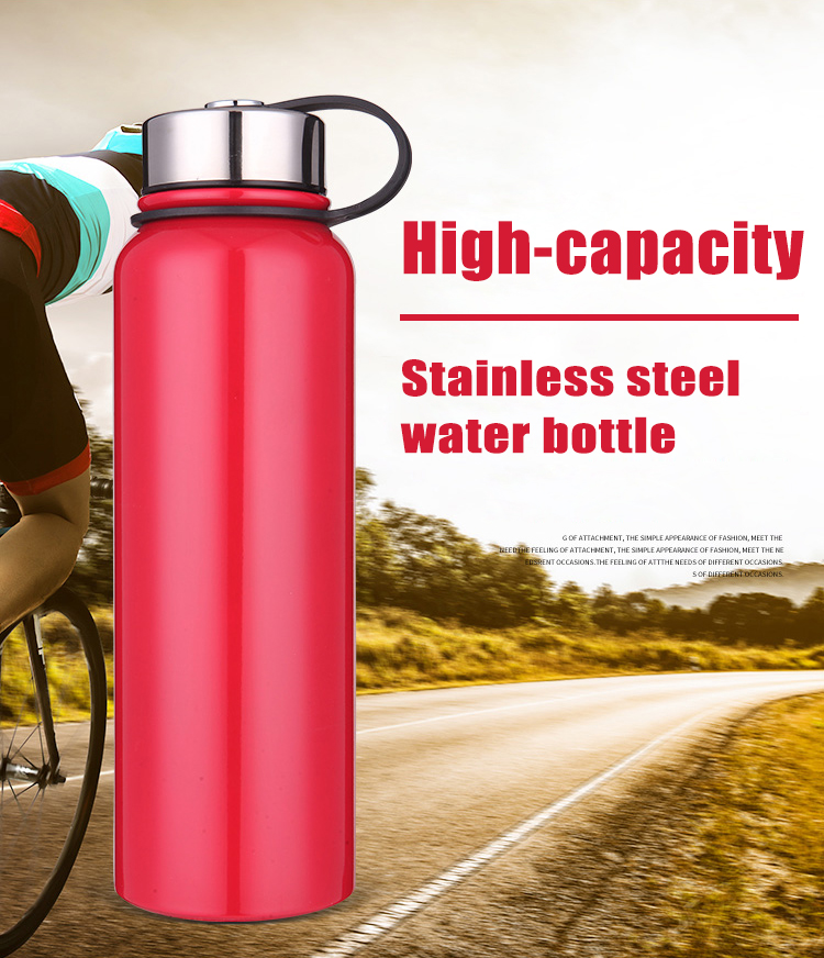 750Ml 1 Liter Stainless Steel Insulated Water Bottle With Filter