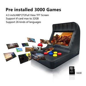 4.3 Inch 3000 Classic Game Player Retro Game Console Handheld Game Console