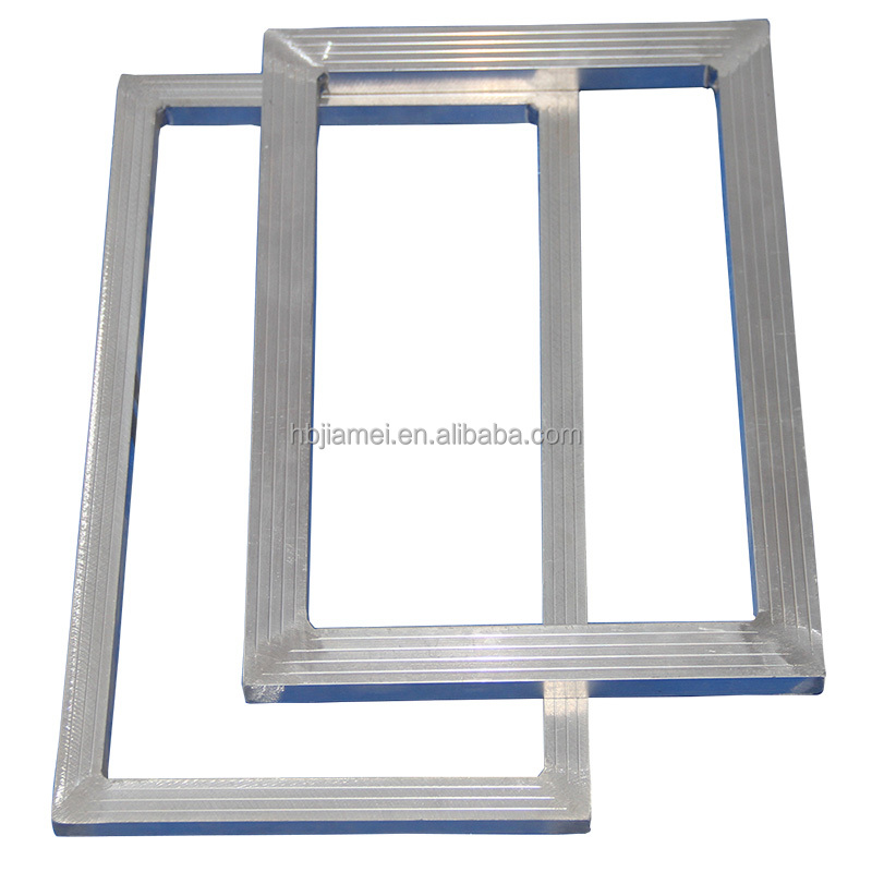 China hot sale120T/305mesh silk screen printing aluminum frame/aluminum silkscreen printing frame