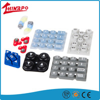 OEM Silicone rubber keypad for electronics, silicone rubber buttons keypad for remote