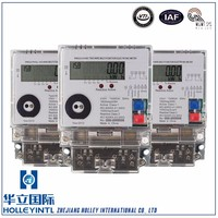 Apply In Hospitals Microelectronic Technology Smart Single Phase Energy Meter