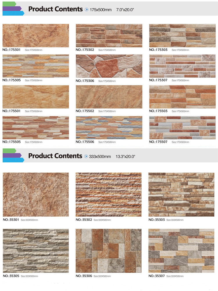 new designs villa exterior cladding 3d ceramic wall tile