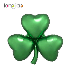 Customized 12-inch Shamrock Foil Balloon for St. Patrick's Day