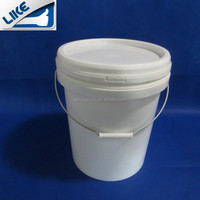 19L Plastic Bucket/drum/pail/container,the high quality plastic oil barrel
