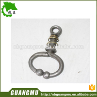 stainless steel bull nose rings round raised sore on cow nose with great price