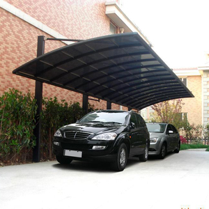 Aluminium alloy frame car shelter car parking canopy carport
