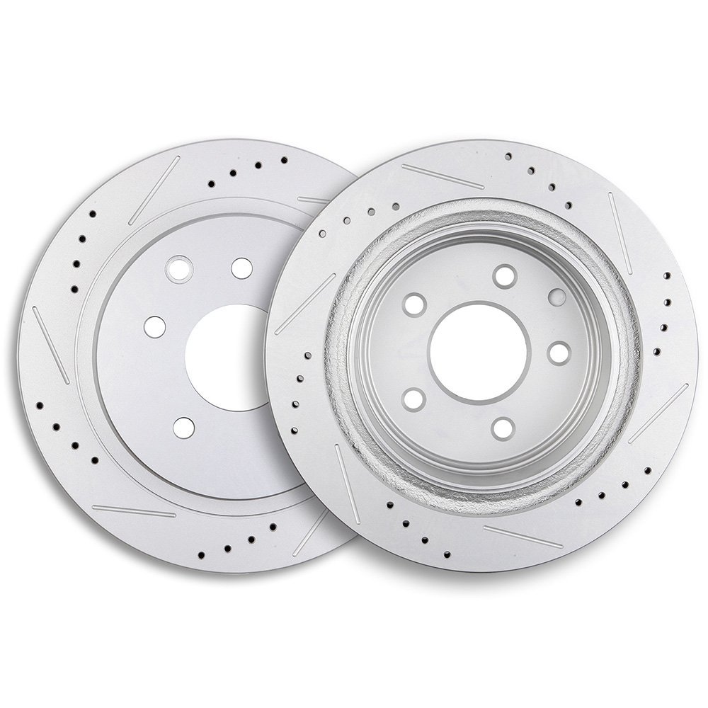 Pads Set 295mm Vented Fits Nissan Quashqai 1.5 1.6 2.0 DCI Front Brake Discs