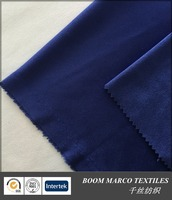 185gsm royal blue super soft elastic weft knitted faux suede fabric for shoes garmensts car seats sofa covering cushion pillow