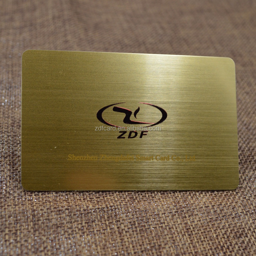 Plastic Business Cards Hot Foil Stamping Wholesale, Plastic ...