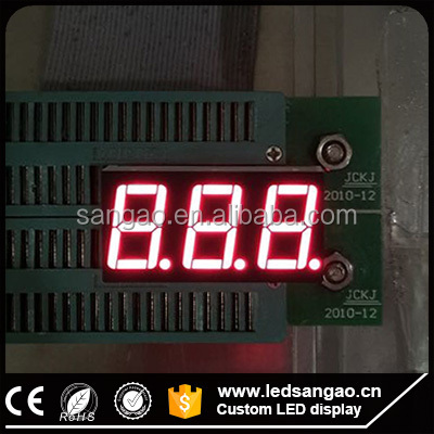 Supply cheap Numeric 7 segment led display