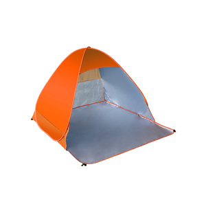 Wholesale cheapest waterproof camping foldable 3-4 person beach tent
