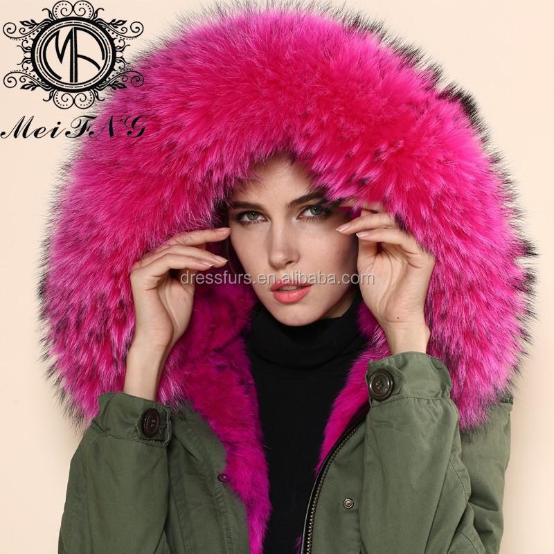 rose couleur pas cher pas cher dhiver de fourrure veste pour femmes chaud vestes - Manteau Femme Color