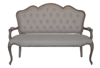 att of contemporary spindle photo x oak bench back loveseat alpine