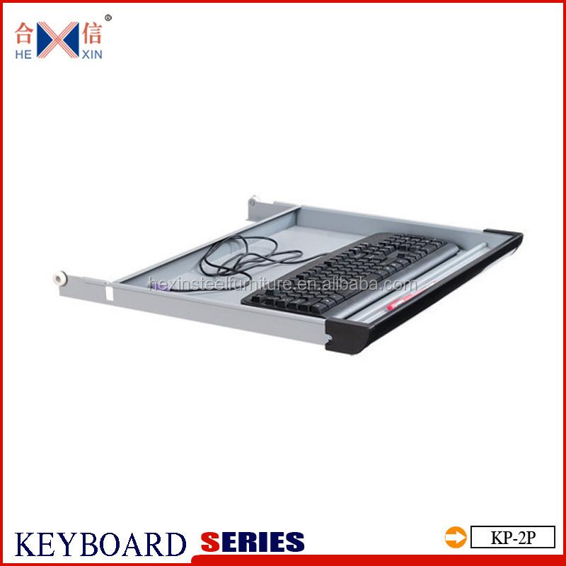Staal Toetsenbord Lade Metalen Toetsenbord Lade Onder Het