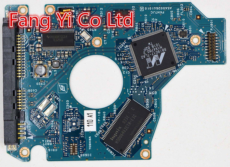 HDD PCB for Toshiba /Logic Board/ G002641A , Main Controller IC: 88i9017-TLA2 / HDD2H84,HDD2H83,MK5065GSX, C0/GJ003M SATA 2.5 PCB