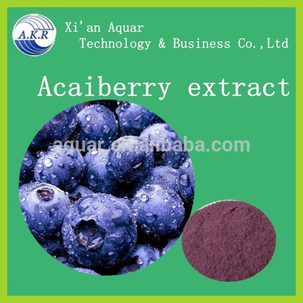 100% natural Brazilian Acai berry p.e. Aca