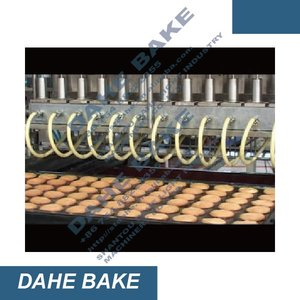 hot-selling many usage food production chocolate/jam/cream filling machine cake top injector