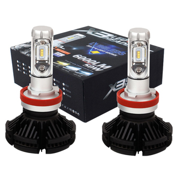 Vehicle Light X3 H7 H4 Led Headlight X3 Auto Car Headlight