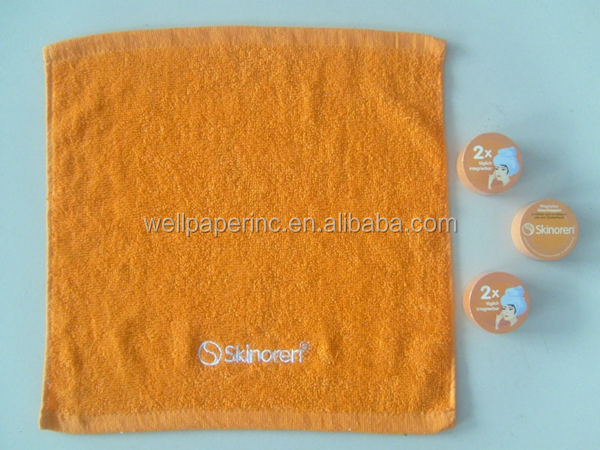 plain dyed compressed towel/comphelled towel/gift towel