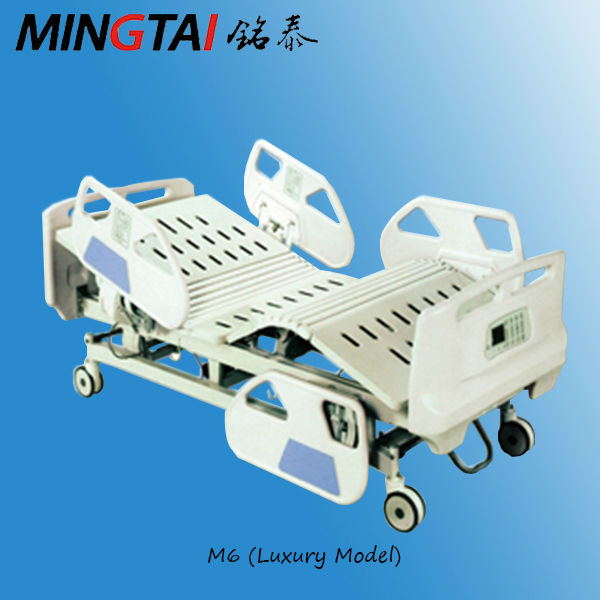 electric 4 motors ICU patient bed with remote control M6 (with weigh function)