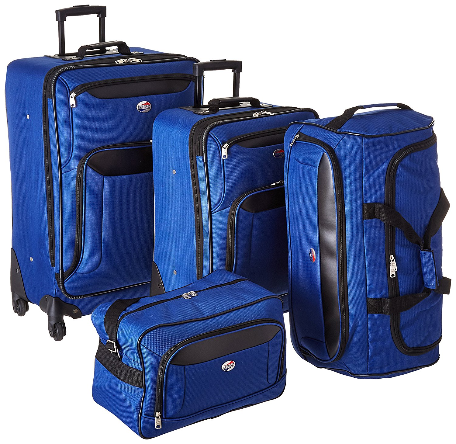9f657cae01a3 Get Quotations · American Tourister Brookfield 4 Piece Set