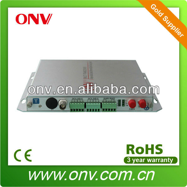 Cheap 1 Channel Fc Fiber Video Optical Transceiver For Security System