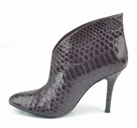 Fashionable pencial heel boot for ladies wholesale