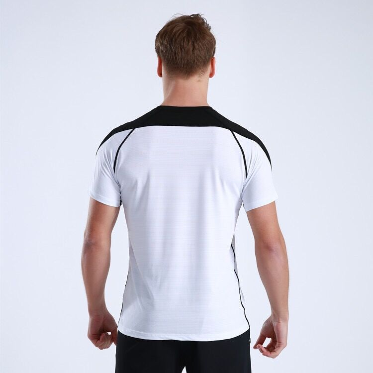Blank Cool Quick Dry Shaping hole Men Sport T Shirt Gym Top