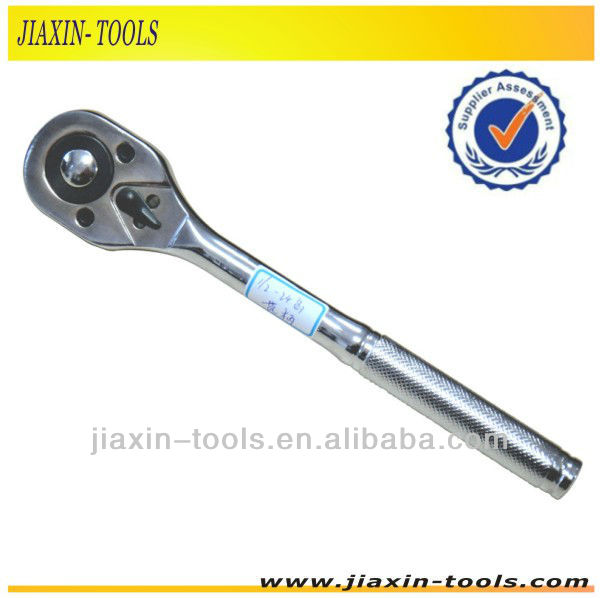 "1/2"" reversible ratchet handle wrench with quick release"