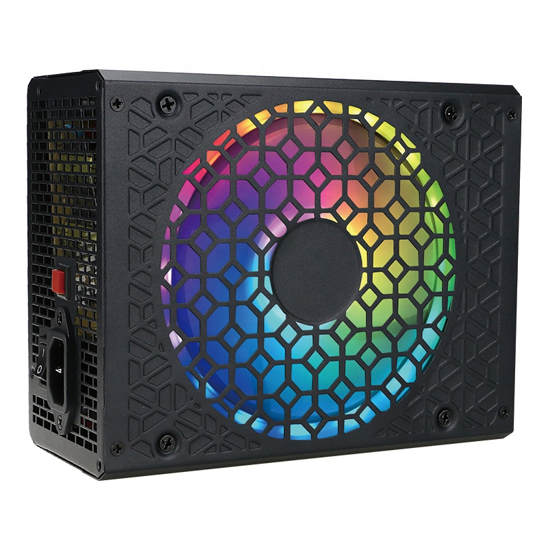Low Price Pc 500W Atx 24Pin Gaming Power Supply 80plus Rgb Psu