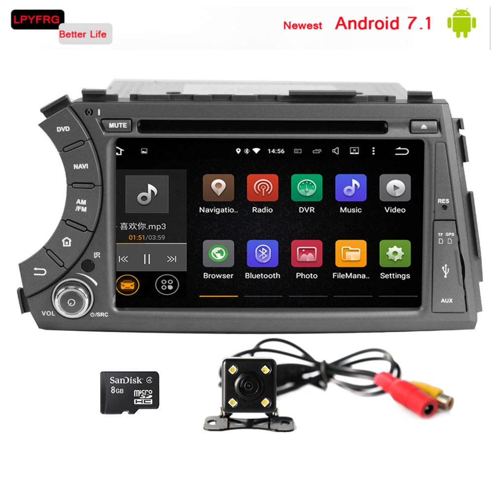 android 7.1 car radio for ssangyong ssang yong actyon sports 2013 2012