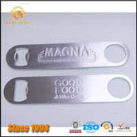 Newest Customized personalised Stainless Steel bar blade bottle opener