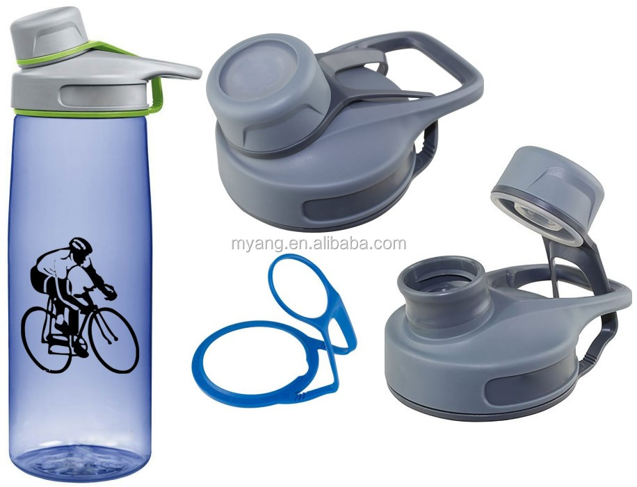 Tritan FDA LFGB approved 700ml 24 ounce bike airtight BPA free water bottle bicycle outdoor Amazon hotsale low MOQ