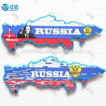 Customize high quality 3d PVC rubber refrigerator magnet with embossed logo for promotion