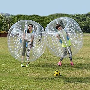 SOLOMONE CAVALLI Bumper Bubble Ball Dia 5' (1.5m) Human Inflatable Bubble Soccer