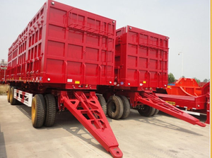 Full Trailer tipper truck For Sale