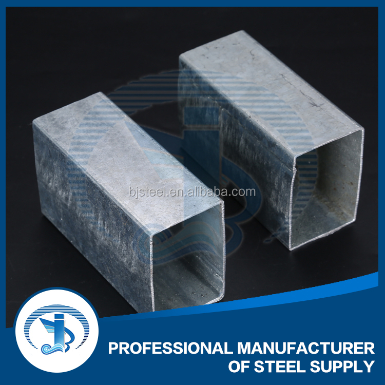 Construct galvanized steel pipes square hollow section steel tubes