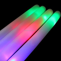 Glow Sticks Light UP LED Foam Stick For Wedding Decoration Concert Wand Rally Party Cheer Stick Multi Color Flash Toy