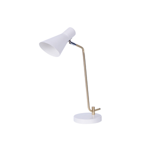 Modern traditional office hotel bedside e27 glass bulb eye protection plastic table lamp