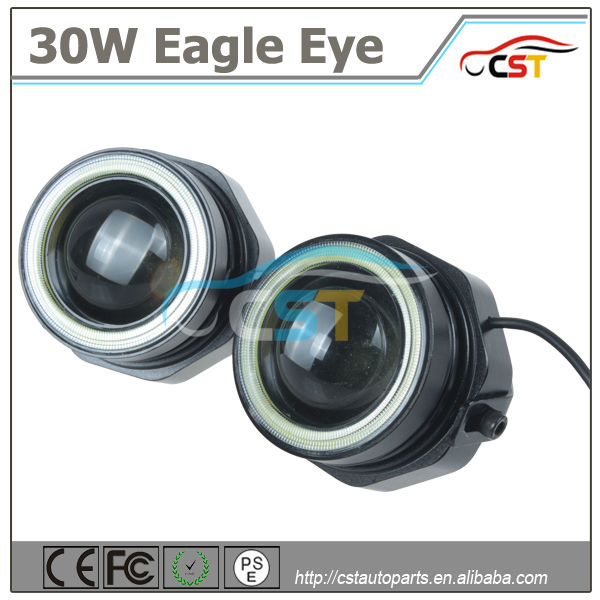 Hot sell 30W Designs Freely 10W LED Eagle Eyes DRL flexible led drl/ daytime running light
