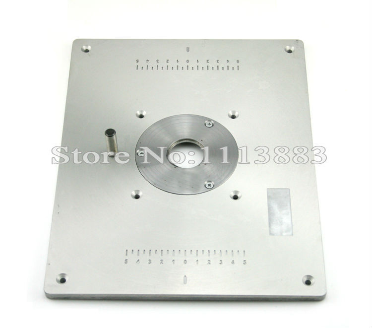 Cheap router table insert find router table insert deals on line at get quotations aluminum router table insert plate for popular router models engrving machine diy woodworking benches keyboard keysfo Image collections