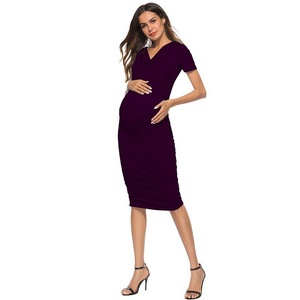 China knee length maternity dress wholesale 🇨🇳 - Alibaba cdaa810ddbbd