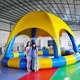 Commercial inflatable pool tent,large inflatable swimming pool with roof tent for kids