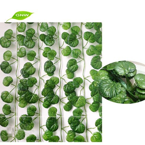 FLV12-2 artificial ivy decorative leaves hanging vine plant for home wedding decoration