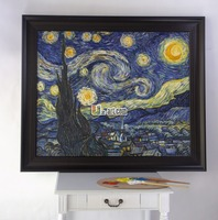 The Starry Night by Vincent Van Gogh oil painting handmade