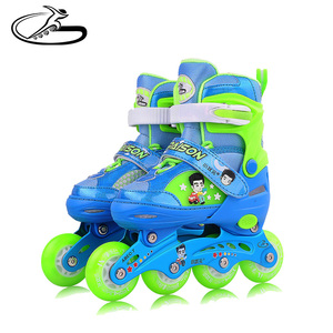 most popular 4 electric wheel city run inline skates