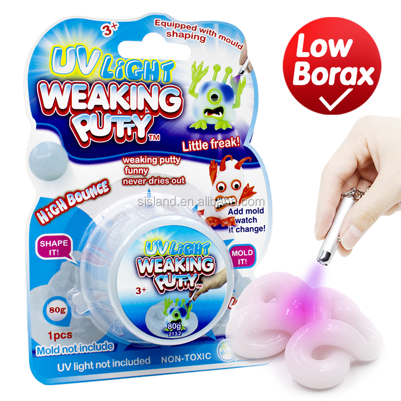 2017 Uv Color Changing Reactive Bouncing Putty Buy Changing Color