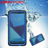 Universal waterproof PVC phone waterproof cell phone case for samsun g galaxy s8 plus