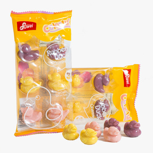 Halal jelly sweets fruity falvor soft chewy candy